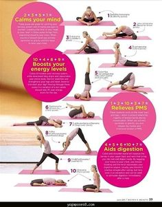 awesome Yoga poses for bedtime