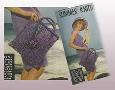 Viola Bag and Hat to Crochet crochet pattern can be found at Etsy shop called YarnPassionDesigns