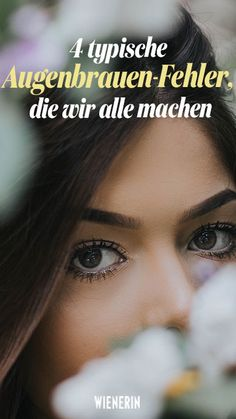 Kein Wunder, dass du mit deinen #Augenbrauen nicht zufrieden bist. Bestimmt machst auch du diese vier Dinge falsch. #eyebrow Beauty Make-up, Beauty Hacks, Aloe Vera Gel, Hair Cuts, Make Up, Skin Care, Anti Aging, Tips, Natural Eyebrows