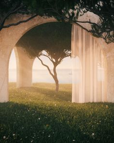 Summer Escape [OC] Nature Aesthetic, Aesthetic Photo, Aesthetic Pictures, Photocollage, Fantasy Landscape, Fantasy World, Pretty Pictures, Oeuvre D'art, Aesthetic Wallpapers