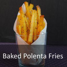 Baked Garlic Polenta Fries