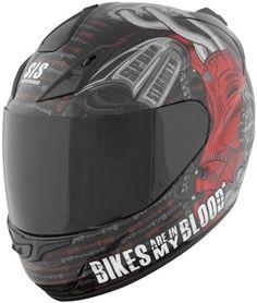 Bikes Are In My Blood Helmet