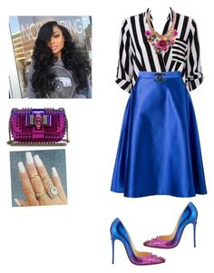 """Youth Sunday!"" by cogic-fashion ❤ liked on Polyvore featuring мода, Wallis, Vitorino Campos и Christian Louboutin"