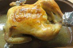 Jak upéct šťavnaté kuře (předem naložené) | recept Poultry, Food And Drink, Turkey, Bread, Chicken, Cooking, Recipes, Kitchen, Peru