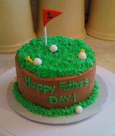 happy fathers day golf cake | Father's Day Golf Cake « Beth Ann's