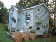 THIS IS MY SHED, I CALL IT MY GREENTHUMB SHED, LOL