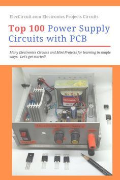 A power supply circuit is what the importance of various electronic projects. My website has a big size grow up every day. Sometimes, you may look for them are difficult. So I collect them (over on Category: Power supply circuit. Electronics Projects, Cool Electronics, Electronics Components, Diy Electronic Projects, Electronic Circuit Design, Electronic Engineering, Led Projects, Electrical Projects, Ham Radio