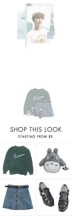 """""""green tea"""" by milkgallon ❤ liked on Polyvore featuring NIKE and Chicnova Fashion"""