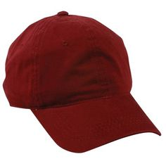 a3687933b7c 6 Panel Unstructured Cap with Tuck Strap Closure  6 Panel