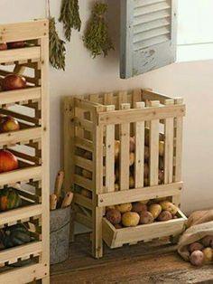 zöldség tároló