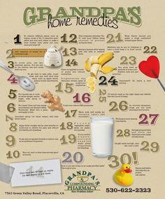 Grandpa home remedies   More Natural Remedies Tips : HealthRelieve.com