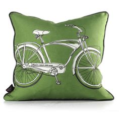 Eco friendly comfortable pillows made from recycled bottles. Cruise Pillow Kelly Green now featured on Fab. Modern Throw Pillows, Decorative Pillows, Decorative Accessories, Tech Accessories, Velvet Couch, Comfortable Pillows, Recycle Plastic Bottles, Recycled Bottles, Kelly Green
