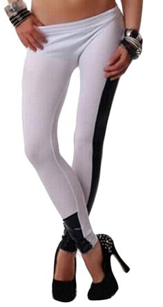 Genhao Women's Seamless Full Length Leggings Stretchy Pants *** Trust me, this is great! : Women's Fashion for FREE
