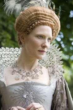 Cate Blanchett in Elizabeth: The Golden Age. Queen Elizabeth's reign is threatened by familial betrayal and Spain's invading army. She and her shrewd advisor must act to safeguard the lives of her people. When the dashing seafarer, Walter Raleigh, captures her heart, Elizabeth is forced to make her most tragic sacrifice for the good of her country. A tale of one woman's crusade to control her love, destroy her enemies and secure her position as a beloved icon of the western world.