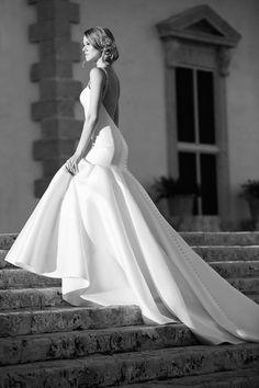 Backless mermaid wedding dress from the Martina Liana 2016 Bridalwear Collection   Love My Dress® UK Wedding Blog