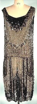 flapper dress 1920's