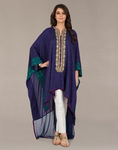Pleated Cape Top