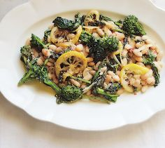 If you like bold, assertive flavors - like broccoli rabe and lemon - this rustic white bean side dish is for you. Try it with roast chicken or pork tenderloin.