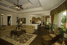 Living Room. #DTH #DreamHome The El Campo floorplan