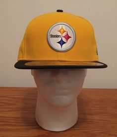 301a3ad17af New Era 59Fifty Pittsburgh Steelers NFL Football On Field Hat Cap 7 3 8  Fitted