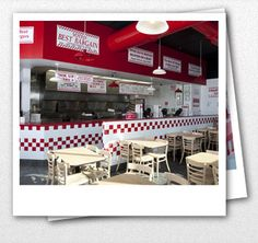 Five Guys - These cheap burgers will make you fat.
