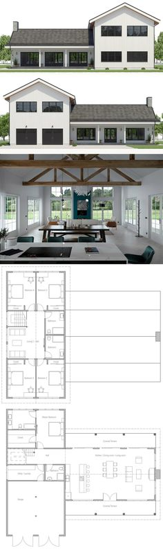 Classical house design with two living areas. Classic house design with two living areas. Small House Cabinet bridge with cat sleep areasSo houses should be in flood prone areasNew living in CUBIG – Design house – Mini house – Country House Plans, New House Plans, Modern House Plans, House Floor Plans, Architecture Design, Computer Architecture, Stairs Architecture, Cabin Interior Design, Classic House Design