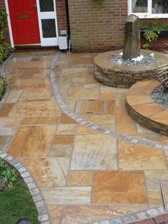 Kota desert sandstone paving slabs for exterior home decor offered by Stonemart, the leading natural stone exporter in India.