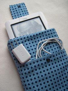 Blue Polka Dot Nook or Kindle Case