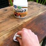 How To Refinish Furniture With Coconut Oil