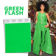 See the Top 10 Colors for Spring 2016 - Green Flash  - from InStyle.com