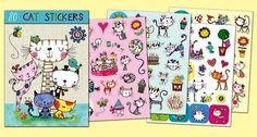 Rachel Ellen Designs Sticker Book | Cats