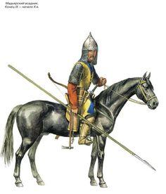 Magyar cavalryman, end of 9th century/ beginn of 10th.