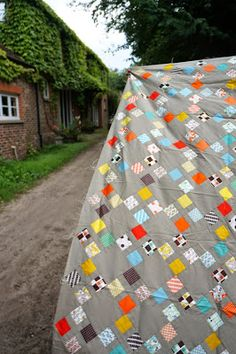 Hadley quilt top on tour