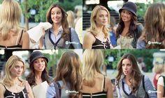 Frannie: Hey, girls. Did you hear? Iota Kappa Iota, 95 percent. Pretty good for our first rush.Casey: Well, we got Maya Stewart. As in Marth...