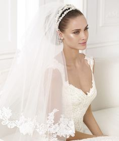 KALA - Flared lace wedding dress. Collection Wedding Dresses 2015 ATELIER   Pronovias