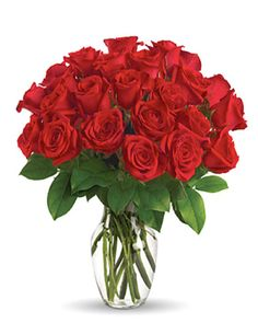Send a message that's sure to get noticed with two dozen beautiful roses designed and delivered in a tasteful glass vase     #roses #flowers #specialperson #lover #love #anniversary #beautifulgift #dozenroses #wedding Rose Arrangements, Beautiful Flower Arrangements, Send Flowers, Fresh Flowers, Love Deluxe, Dozen Red Roses, Red Rose Bouquet, Flower Bouquets, Order Flowers Online
