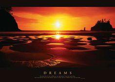 Dreams Motivational Poster