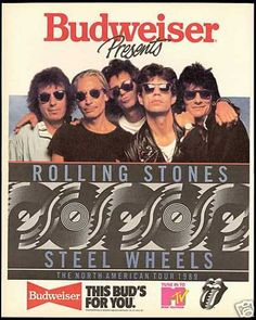 ROLLING STONE/ Steel Wheels Tour (1989).  Saw them in Philly 1989 Steel Wheels Tour, I actually won the tickets from a local radio station, only thing I have ever won & The Stones are one of my favorite bands : )))