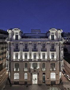 I must visit Hotel Urso en el Palacio de Mejía Lequerica, on my next trip to Madrid!