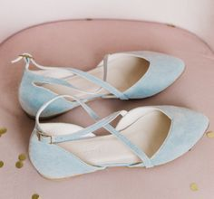 """Silver wedding flats Blue dream"""" Elegant light blue ballet flats for wedding ceremonies. The package includes: * Shoes * Bag for shoes * Brand box. Blue Bridal Shoes, White Wedding Shoes, Bridal Sandals, Wedding Shoes Heels, Bride Shoes, Wedding Blue, Boho Wedding, Colorful Wedding Shoes, Ballet Flats Wedding"""
