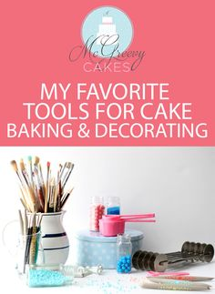 McGreevy Cakes: the best tools for cake baking and decorating!