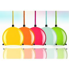 Amazing Szklana lampa SOTTO LUCE MYOO wisz ca ro ne kolory