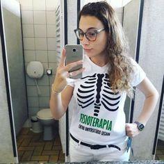 """82cb9c48bb Loja iClothes on Instagram  """"Recebemos essa foto da lindona  anaalfredo que  veste a camiseta que fizemos para a turma de Fisioterapia da UNILUS!"""