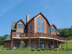 Cedar Chateau at Railey Mountain Lake Vacations, sleeps 26, indoor pool, pool table, hot tub