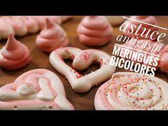 [On aime] Meringues coeur bicolores pour saint valentin (avec astuces!!) - Hervé cuisine @hervecuisine