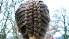 Suspended Infinity Braid How-to Video Tutorial by HairAndNailsInspiration.  Also see Zipper Braid Updo by Cute Girls Hairstyles for verbal instructions (https://www.youtube.com/watch?v=_TEBfvmH2f0).