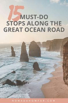 15 Must-Do Stops Along The Great Ocean Road- Tanks that Get Around is an online store offering a selection of funny travel clothes for world explorers. Check out for funny travel tank tops and more travel destination guides. Brisbane, Perth, Sydney, Australia Travel Guide, Visit Australia, Australia Trip, Tourism In Australia, Melbourne Australia, South Australia