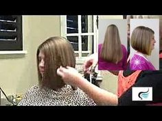 How To: Cut a Slight A-Line Haircut |Hairstyle Tutorial - YouTube