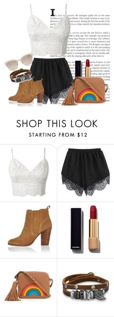 """""""Red Lippie but Edgy"""" by agnes-adellina on Polyvore featuring River Island, Chanel, Anya Hindmarch, BillyTheTree and Christian Dior"""