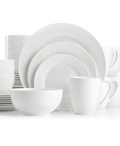 Gorham Dinnerware, Breckenridge Round 40 Piece Set - Casual Dinnerware - Dining & Entertaining - Macy's